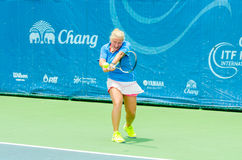 Chang ITF Pro Circuit 2015 Royalty Free Stock Photo