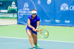 Chang ITF Pro Circuit 2015 Royalty Free Stock Photos