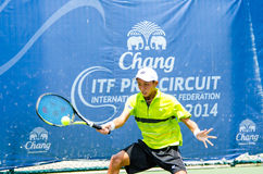 Chang ITF Pro Circuit , Men's. Royalty Free Stock Photo