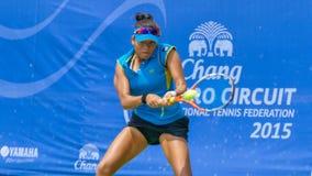 Chang ITF Pro obwód 2015 (Międzynarodowa Tenisowa federacja) Fotografia Stock