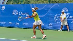 Chang ITF Pro obwód 2015 (Międzynarodowa Tenisowa federacja) Zdjęcia Royalty Free