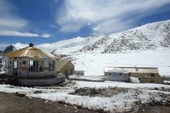 Chang la Pass. stock photos
