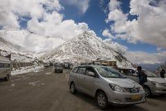 Chang La Pass Ladakh, Índia - em setembro de 2014 foto de stock