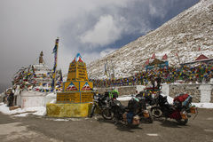Chang La Pass Ladakh ,India - September 2014 Stock Image