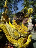 Chang mai flowers festival Royalty Free Stock Photography
