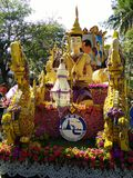 Chang mai flowers festival Stock Photos