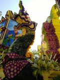 Chang mai flowers festival Royalty Free Stock Photos