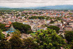 Chang Mai. View. Golden triangle, Thailand Royalty Free Stock Photos