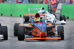 Chang Mun Shien at Formula BMW Pacific race Royalty Free Stock Photography