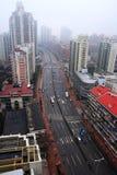 Chang Ning Road a Shanghai Immagini Stock Libere da Diritti