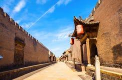 Chang rezydenci ziemskiej parka scena. Głównej ulicy i magistrali bramy. Obrazy Royalty Free