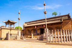 Chang's Manor Park scene. Chang's ancestral hall. Stock Photography