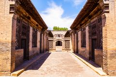 Chang's Manor Park scene-Chinese ancient house building. Royalty Free Stock Photography