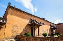 Chang's Manor Park scene. Chinese ancient house building. Stock Images