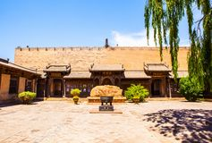 Chang's Manor Park scene-Chinese ancient house building. Stock Photo