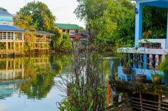 Chang stad, Chanthaburi, strand, Thailand Royaltyfri Fotografi
