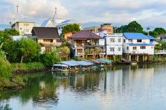 Chang stad, Chanthaburi, strand, Thailand Arkivfoto