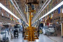 Changan Automobile Beijing Branch Changan car assembly line Stock Photos