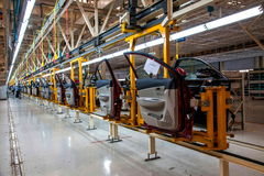 Changan Automobile Beijing Branch Changan car assembly line Royalty Free Stock Images