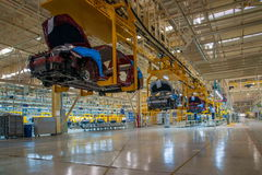 Changan Automobile Beijing Branch Changan car assembly line Stock Photos