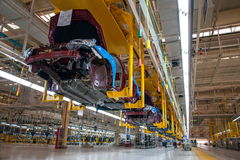 Changan Automobile Beijing Branch Changan car assembly line Royalty Free Stock Photography