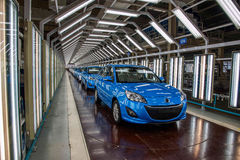 Changan Automobile Beijing Branch Changan car assembly line Stock Photo