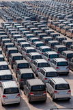 Changan Automobile Co. factory vehicle transport field Yuzui Royalty Free Stock Photo