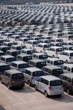 Changan Automobile Co. factory vehicle transport field Yuzui Stock Photo