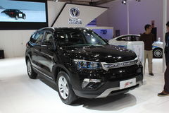 Changan CS75 black version Stock Photography