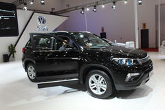 Changan CS75 black version Royalty Free Stock Image
