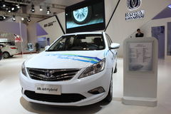 Changan EADO hybrd version Royalty Free Stock Photos