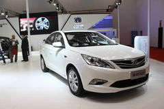 Changan EADO white car Stock Photography