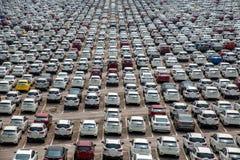 Changan Ford car goods car parking Stock Photo