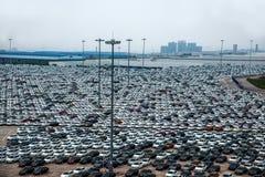Changan Ford car goods car parking Stock Photography