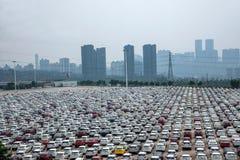 Changan Ford car goods car parking Stock Images