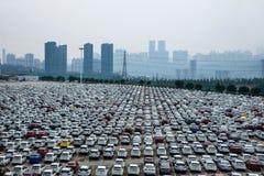 Changan Ford car goods car parking Stock Photos