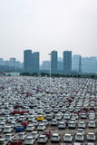 Changan Ford car goods car parking Royalty Free Stock Photos