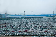 Changan Ford car goods car parking Royalty Free Stock Images