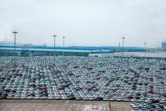 Changan Ford car goods car parking Stock Image