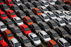 Changan new factory goods vehicles Stock Photography