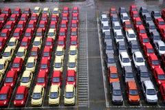 Changan nowi fabryczni towarowi pojazdy Obrazy Royalty Free