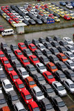 Changan nowi fabryczni towarowi pojazdy Fotografia Stock