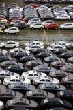 Changan nowi fabryczni towarowi pojazdy Obraz Royalty Free