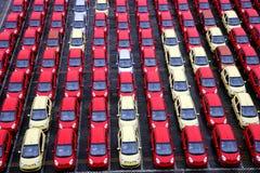 Changan nowi fabryczni towarowi pojazdy Zdjęcie Royalty Free