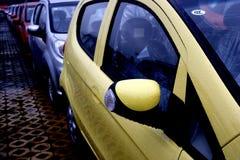 Changan samochodu transportu pole dokąd nowy fabryczny towarowy pojazdu rearview lustro Obraz Stock
