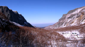 Changbai山 库存图片