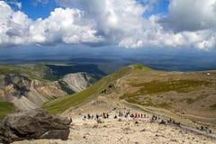 Changbai Mountain In The Summer Travel Peak. Stock Photo