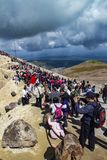 Changbai Mountain In The Summer Travel Peak. Stock Photography
