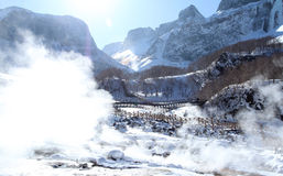 Changbai mountain Stock Photography