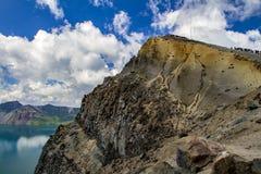 Changbai Mountain Travel Peak In The Summer. Stock Photos